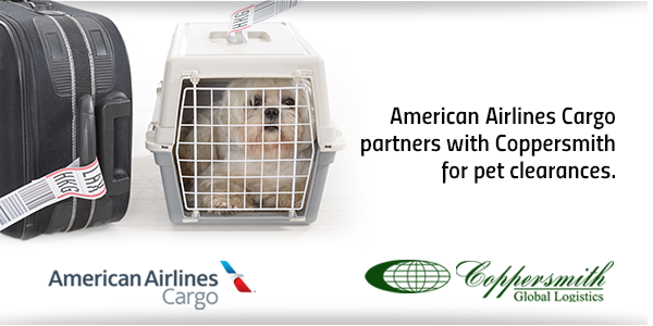 American Airlines Turns To Coppersmith For Pet Clearances